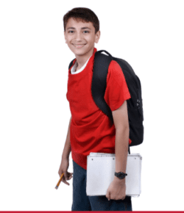A heavy backpack can lead to long-term problems