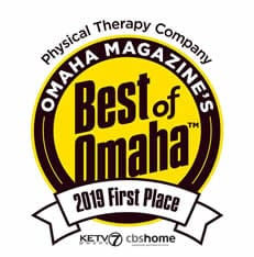 Best of Omaha 2019 First Place Physical Therapy Company