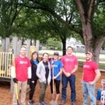 Wahoo Playground Mulch Project